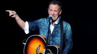 In this Nov. 5, 2018 file photo, Bruce Springsteen performs at the 12th annual Stand Up For Heroes benefit concert at the Hulu Theater at Madison Square Garden in New York.