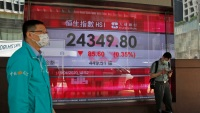 Asia Shares Drop on Jitters Over Virus, China-US Friction