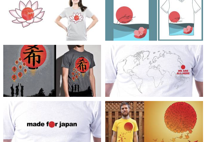 Threadless-tees-for-Japan