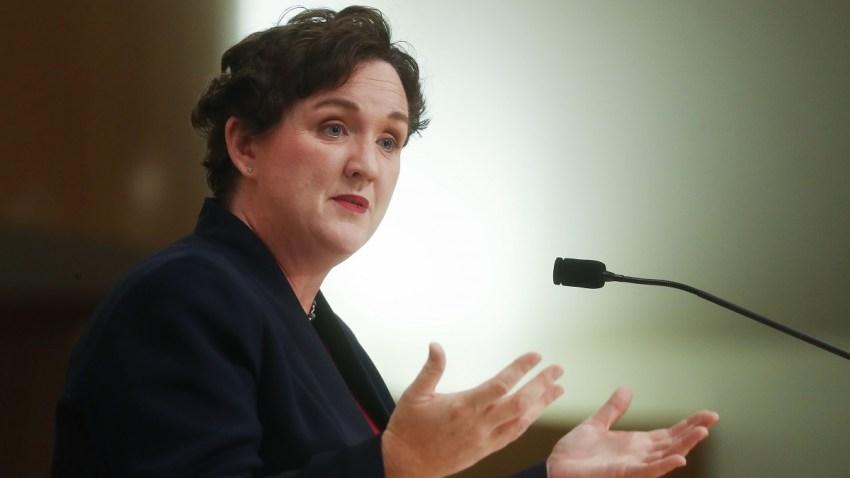 Katie Porter California Congresswoman Impeachment 1052794496