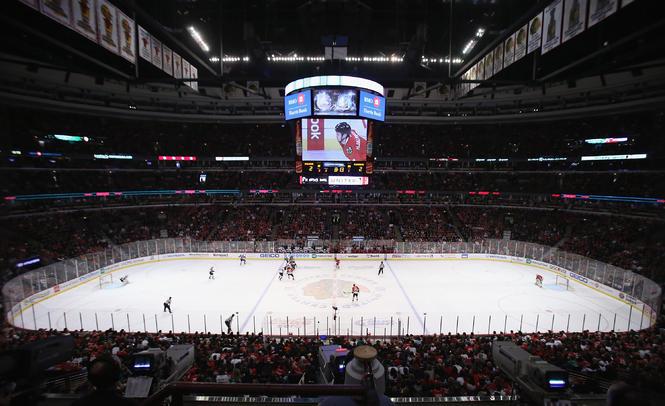 United Center Avs vs Hawks
