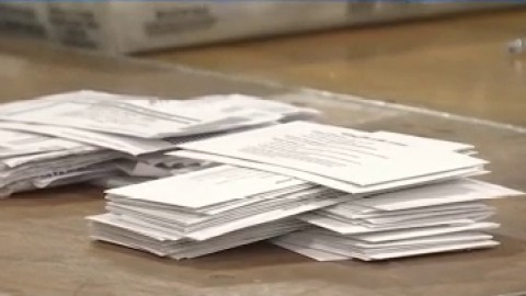 Mail-in voting ballots