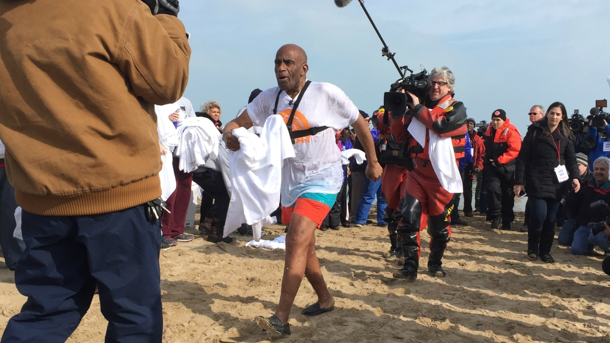 'Today' Show's Al Roker, Craig Melvin to Take Polar Plunge in Chicago