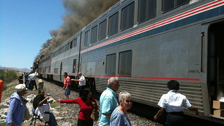 Amtrak Truck Crash