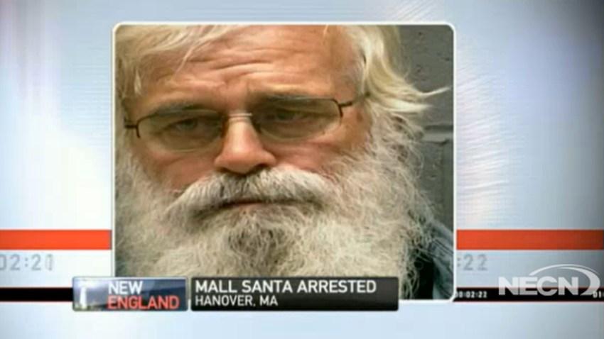 arrested santa