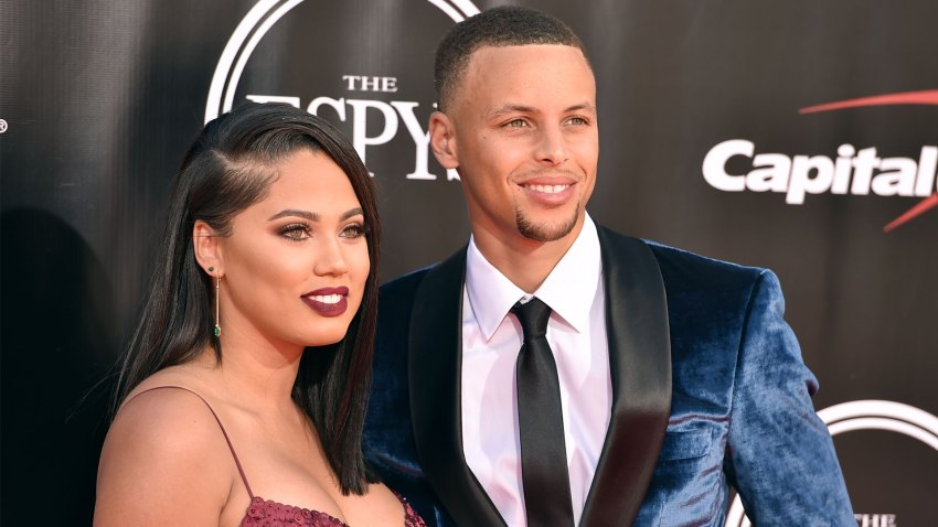 [CSNBY] Ayesha Curry closes happy birthday message to Steph with 'mic drop'