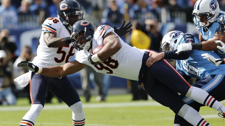 Bears Titans Football