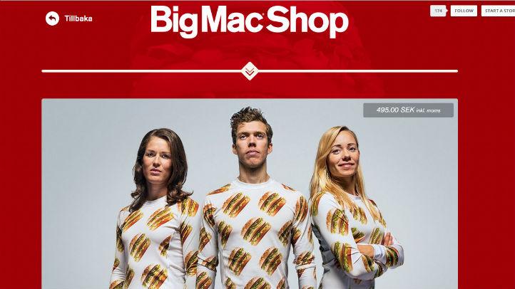 big mac shop site