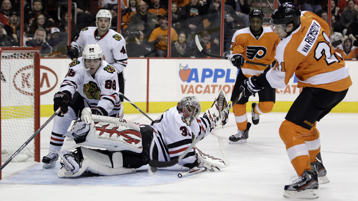 Blackhawks Flyers Hockey