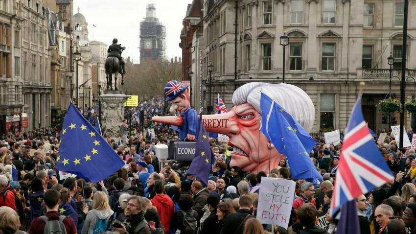 Britain Brexit March