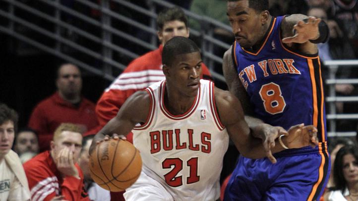 Knicks Bulls Basketball