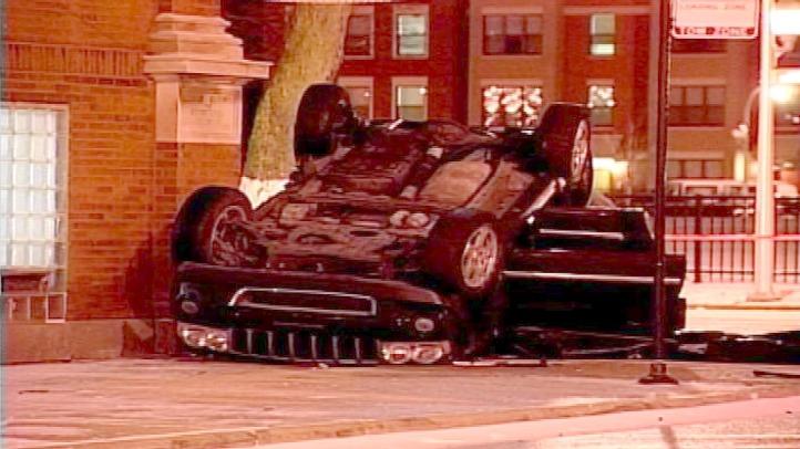 car vs church ax