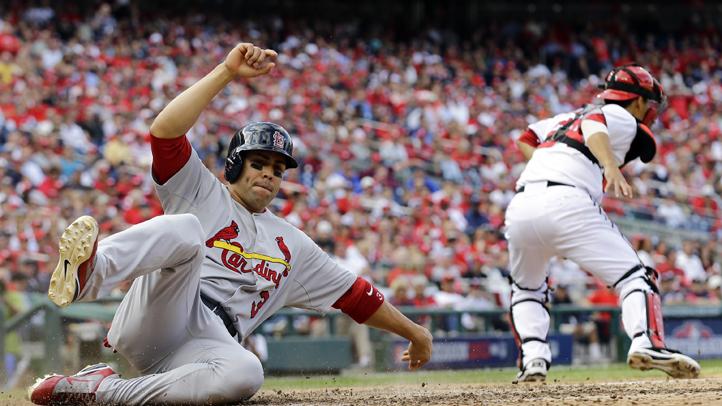 NLDS Cardinals Nationals Baseball