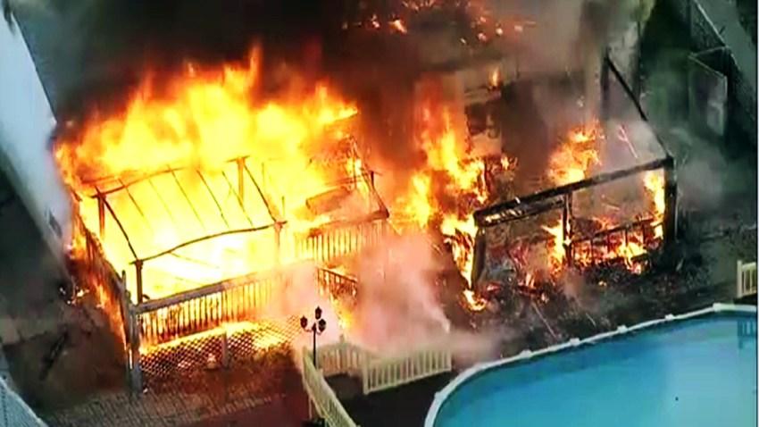 carteret house fire