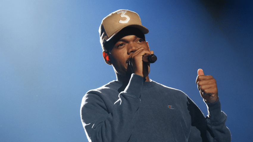 chance the rapper GettyImages-844427050