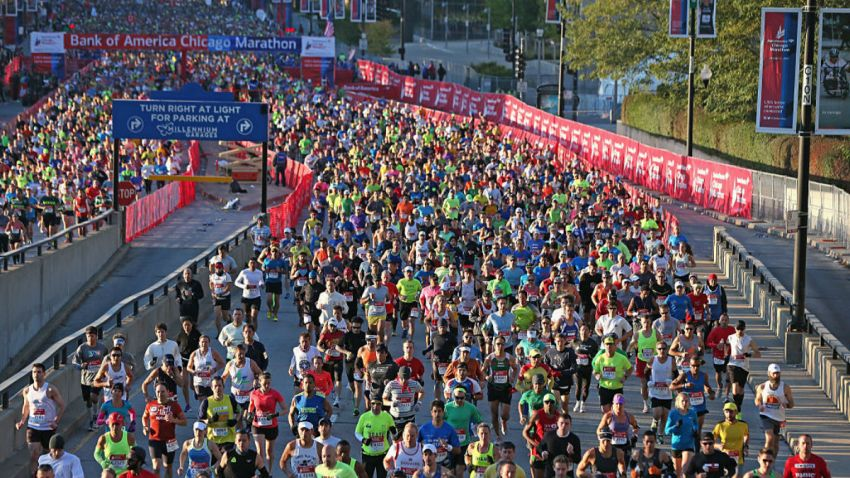 chicago marathon getty