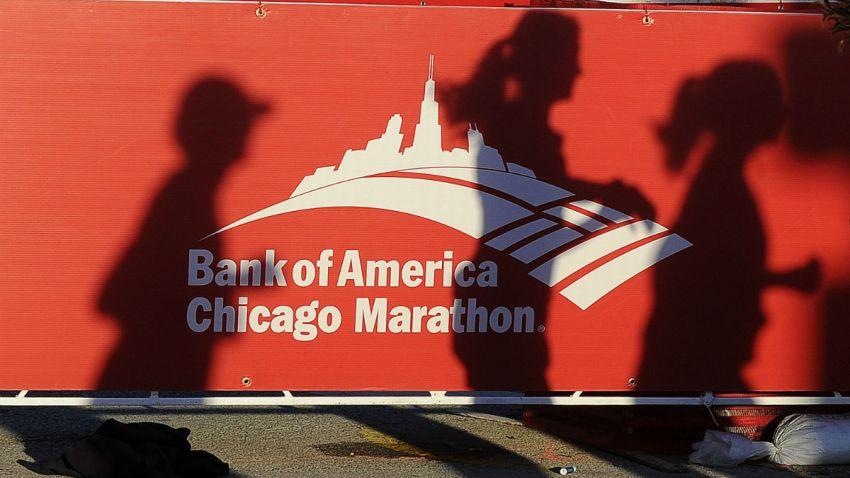 chicago marathon shadows getty