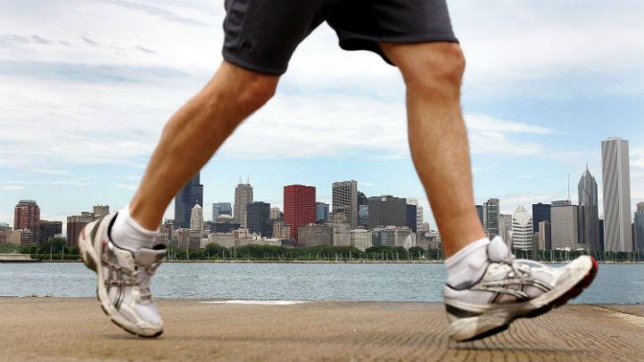 chicago runner lakefront getty