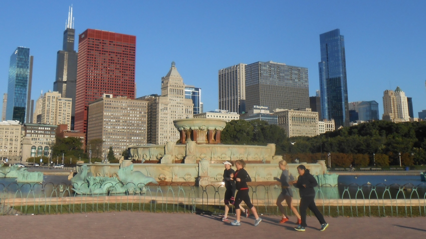 chicago running tours