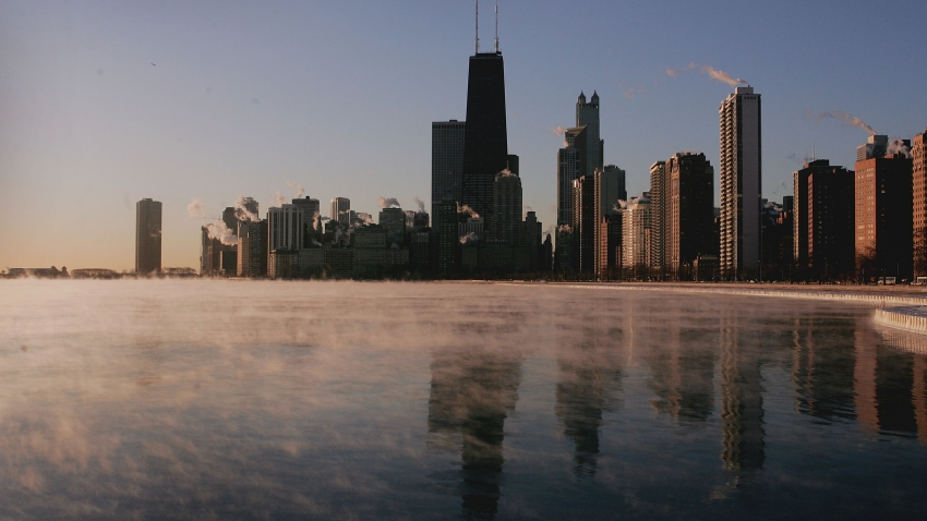 chicago skyline 040411
