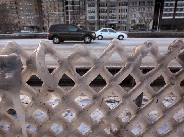 chicago snow road
