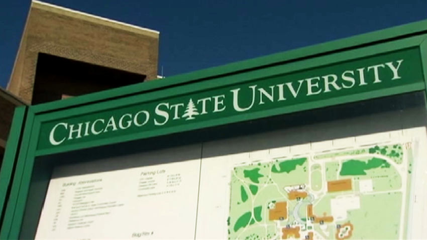 chicago state university sign2