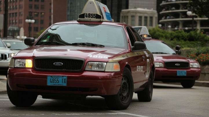 chicago taxi cab