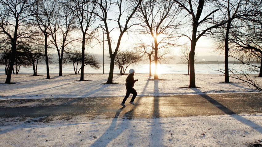 chicago winter running