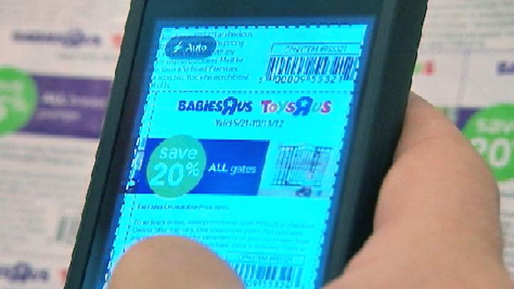 coupon app smartphone