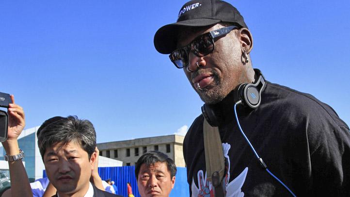 North Korea Dennis Rodman