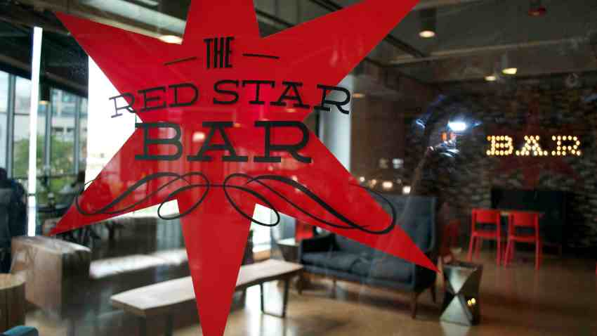 Red Star Bar at Whole Foods