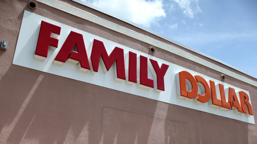 In this July 28, 2014, file photo, a Family Dollar store is seen in Hollywood, Florida.