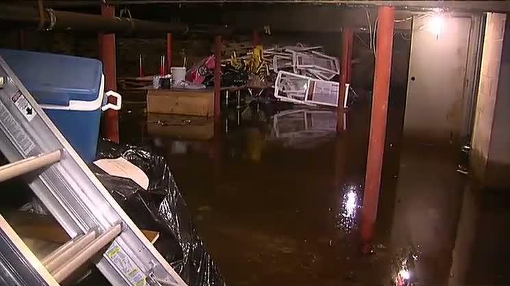 flooded basement Dorchester