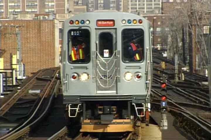 generic CTA 'L' Train