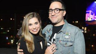 Danielle Fishel and Jenson Karp