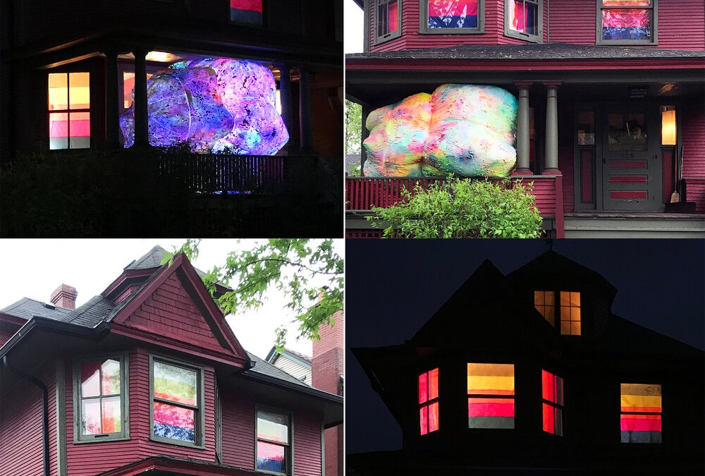 Art-In-Place Initiative Invites Artists to Display Exhibits Outside Homes