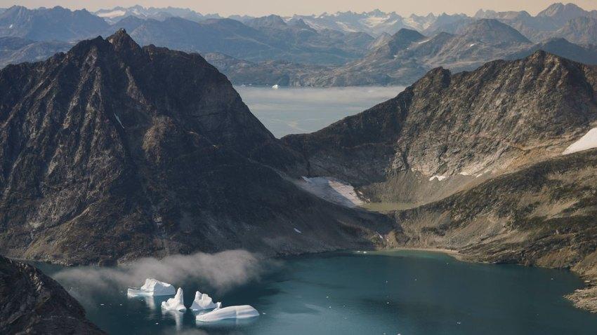 APTOPIX Greenland Glaciers