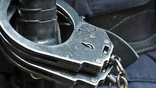 Generic photo of handcuffs