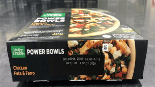 healthy choice frozen meal