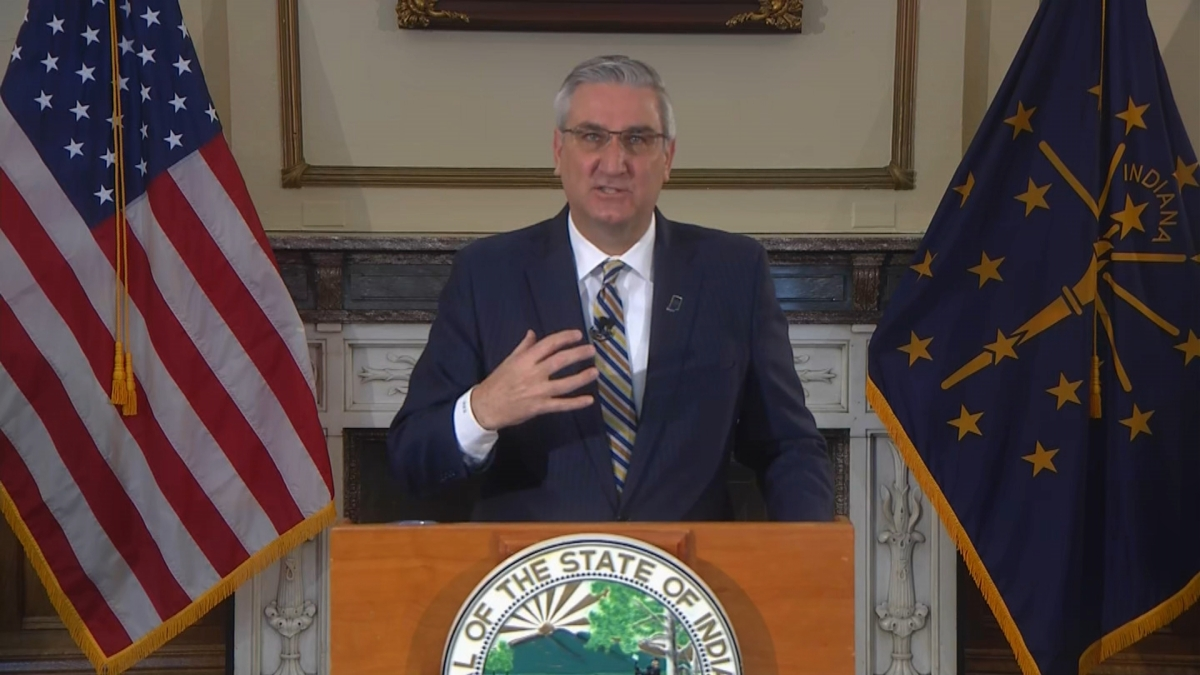indiana gov  eric holcomb issues  u2018stay