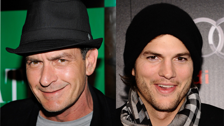 kutcher sheen