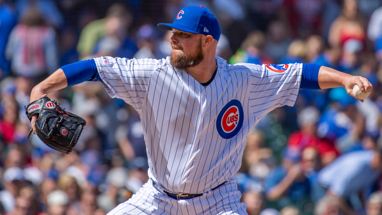 Why Jon Lester Hasn't Yet Thrown Live Batting Practice in Cubs Summer Camp