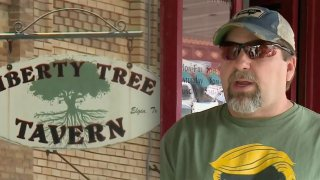 Kevin Smith, co-owner of Liberty Tree Tavern