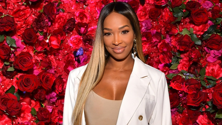Malika Haqq attends 'Secret with Essential Oils' Launch Party at Villa 2024 on October 01, 2019 in Beverly Hills, California.