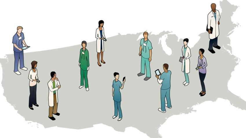 Health Care map