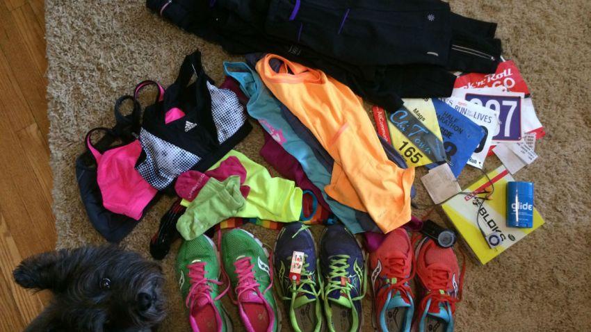 marathon training gear