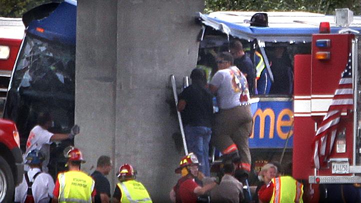 Megabus Crash-Illinois