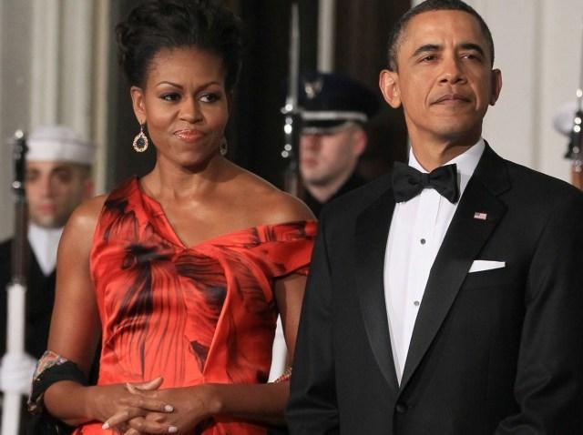 michelle obama mcqueen lead