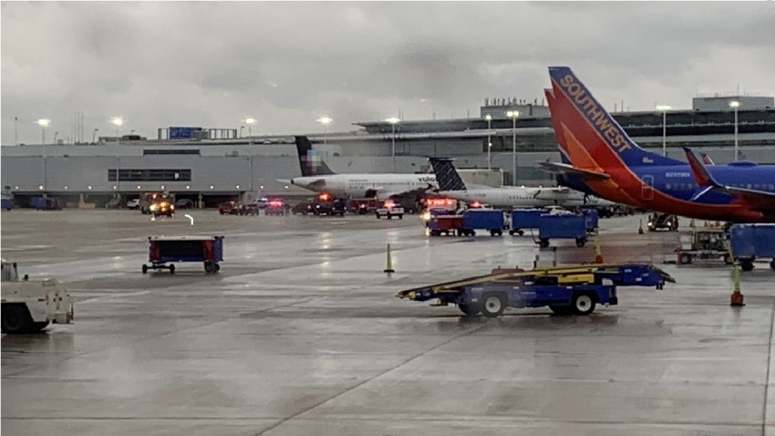 midway luggage carrier incident