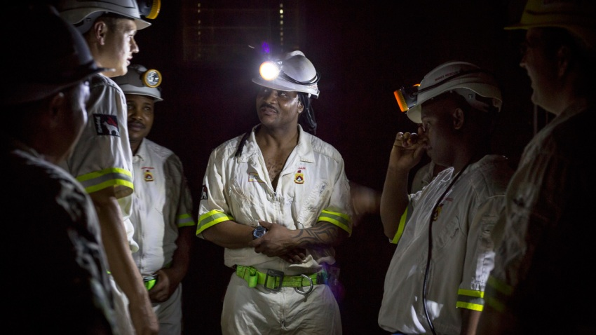 South Africa Trapped Miners